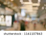 abstract background of shopping ... | Shutterstock . vector #1161107863