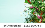 ingredients of herbal... | Shutterstock . vector #1161109756