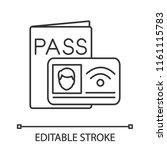 nfc identification system...   Shutterstock .eps vector #1161115783