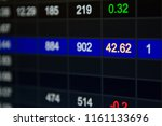 abstract financial figures...   Shutterstock . vector #1161133696