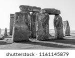 Famous Stonehenge  Close Up On...