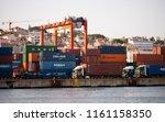 lisbon  portugal   1 august... | Shutterstock . vector #1161158350