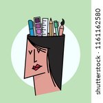 we are hiring designers... | Shutterstock .eps vector #1161162580