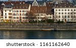 houses of basel near the rhine... | Shutterstock . vector #1161162640