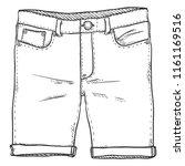 vector single sketch...   Shutterstock .eps vector #1161169516