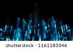 3d render abstract background.... | Shutterstock . vector #1161183346