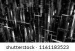 3d render abstract background.... | Shutterstock . vector #1161183523