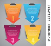 web labels with different... | Shutterstock .eps vector #116119564