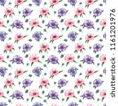 watercolor seamless pattern... | Shutterstock . vector #1161201976