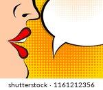 pop art retro style comic book...   Shutterstock . vector #1161212356