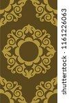 beautiful textile graphic...   Shutterstock . vector #1161226063
