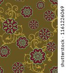 beautiful textile graphic...   Shutterstock . vector #1161226069