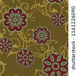 beautiful textile graphic...   Shutterstock . vector #1161226090