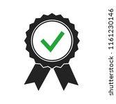 champion award medals check...   Shutterstock .eps vector #1161230146