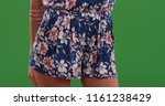 tight shot of midsection of... | Shutterstock . vector #1161238429
