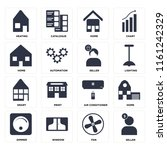 set of 16 icons such as seller  ...