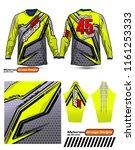 long sleeve motocross jerseys t ...   Shutterstock .eps vector #1161253333