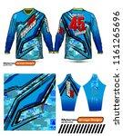 long sleeve motocross jerseys t ...   Shutterstock .eps vector #1161265696