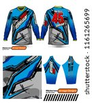 long sleeve motocross jerseys t ...   Shutterstock .eps vector #1161265699