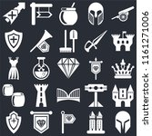 set of 25 icons such as helmet  ...