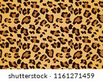 leopard seamless pattern.... | Shutterstock .eps vector #1161271459