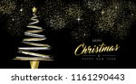 merry christmas and new year... | Shutterstock .eps vector #1161290443