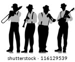 Vector Drawing Jazz Musicians...