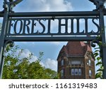 forest hills  ny  usa  8 15 18  ... | Shutterstock . vector #1161319483