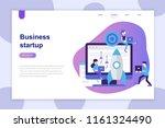 modern flat design concept of... | Shutterstock .eps vector #1161324490