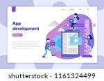 modern flat design concept of... | Shutterstock .eps vector #1161324499