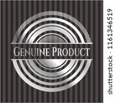 genuine product silver shiny... | Shutterstock .eps vector #1161346519