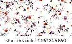 wide vintage seamless... | Shutterstock . vector #1161359860