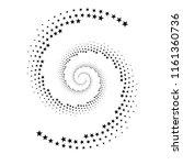 original abstract halftone... | Shutterstock .eps vector #1161360736