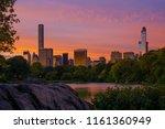 golden hour  sunrise shot of... | Shutterstock . vector #1161360949