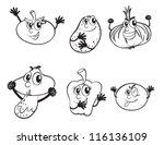 detailed illustration on... | Shutterstock .eps vector #116136109
