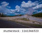 beautiful landscape of old...   Shutterstock . vector #1161366523