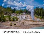 beautiful outdoor view of... | Shutterstock . vector #1161366529