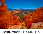 great spires carved away by... | Shutterstock . vector #1161368116