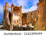ruins of st georges church... | Shutterstock . vector #1161399499