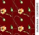 seamless pattern with original...   Shutterstock . vector #1161400843