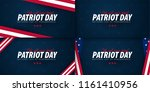 patriot day promotion ... | Shutterstock .eps vector #1161410956