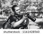 st petersburg  russia   june 17 ...   Shutterstock . vector #1161428560
