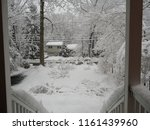view from the porch in the... | Shutterstock . vector #1161439960