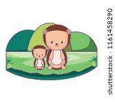 cute animals design | Shutterstock .eps vector #1161458290