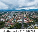beautiful aerial view of costa... | Shutterstock . vector #1161487723