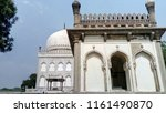 qutub shahi tombs in hyderabad  ... | Shutterstock . vector #1161490870