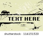 scratched grunge background ... | Shutterstock .eps vector #116151520