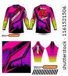 long sleeve motocross jerseys t ...   Shutterstock .eps vector #1161521506