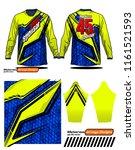 long sleeve motocross jerseys t ...   Shutterstock .eps vector #1161521593