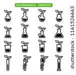 environmental chemistry are... | Shutterstock .eps vector #1161526663